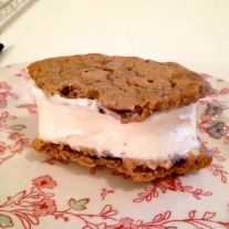 or a Coolhaus ice cream sandwich (BEYOND, by the way)